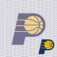 Fanatic: Indiana Pacers 12 x 12 Paper