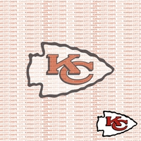Fanatic: Kansas Chiefs 12 x 12 Paper