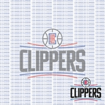 Fanatic: Los Angeles Clippers 12 x 12 Paper