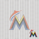 Fanatic: Miami Marlins 12 x 12 Paper