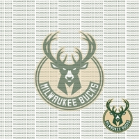 Fanatic: Milwaukee Bucks 12 x 12 Paper