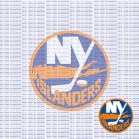 Fanatic: New York Islanders 12 x 12 Paper