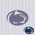 Fanatic: Penn State University 12 x 12 Paper