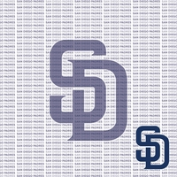 Fanatic: San Diego Padres 12 x 12 Paper