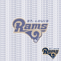 Fanatic: St. Louis Rams 12 x 12 Paper