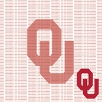 Fanatic: University of Oklahoma 12 x 12 Paper