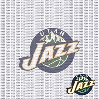 Fanatic: Utah Jazz 12 x 12 Paper