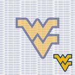 Fanatic: West Virginia University 12 x 12 Paper