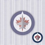 Fanatic: Winnipeg Jets 12 x 12 Paper