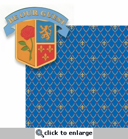 Fantasy Land: Be Our Guest 2 Piece Laser Die Cut Kit