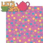 Fantasy Land: Let's Spin Laser 2 Piece Die Cut Kit