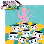 Fantasy Land: Mad Tea Party 2 Piece Laser Die Cut Kit