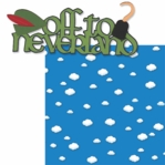 Fantasy Land: Off To Neverland Laser 2 Piece Die Cut Kit