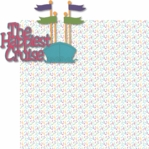 Fantasy Land: The Happiest Cruise Laser 2 Piece Die Cut Kit