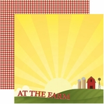 Farm 12 x 12 Double-Sided Cardstock