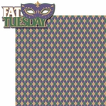 Fat Tuesday: Fat Tuesday 2 Piece Laser Die Cut Kit