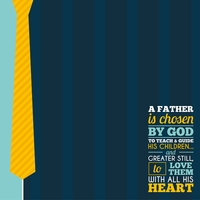 Father's Day: #1 Dad 12 x 12 Paper