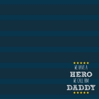 Father's Day: Our Hero 12 x 12 Paper