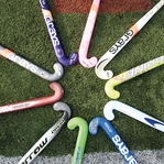 Field Hockey Equipment 12 x 12 Paper