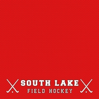 Field Hockey Team Custom 12 x 12 Paper