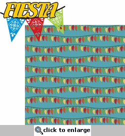 Fiesta: Fiesta 2 Piece Laser Die Cut Kit