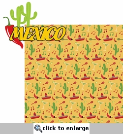 Fiesta: Mexico 2 Piece Laser Die Cut Kit