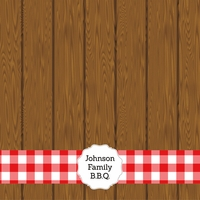 Fire Up The Grill: BBQ Custom 12 x 12 Paper