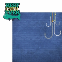Fish: Best Catch 2 Piece Laser Die Cut Kit