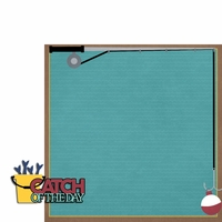 Fishing: Catch of Day 2 Piece Laser Die Cut Kit