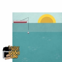 Fishing: Good Life 2 Piece Laser Die Cut Kit