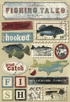 Fishing Tales Cardstock Stickers