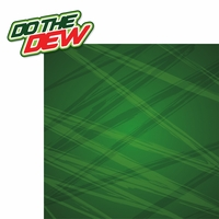 Fizzy Pop: Do The Dew 2 Piece Laser Die Cut Kit