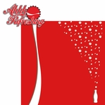Fizzy Pop: Enjoy Coke 2 Piece Laser Die Cut Kit