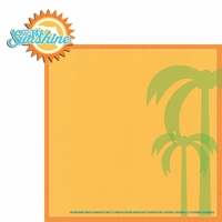 Florida Travels: Fl Sunshine 2 Piece Laser Die Cut Kit