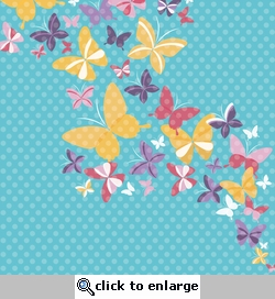 Flower and Garden: Butterfly Garden 12 x 12 Paper