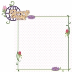 Flower and Garden: Flower and Garden Festival 2 Piece Laser Die Cut Kit