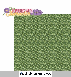 Flower and Garden: Topiaries With Character 2 Piece Laser Die Cut Kit