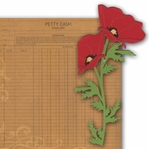 Flower Corner 2 Piece Laser Die Cut Kit