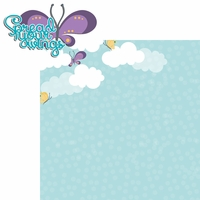 Flutter: Spread Wings 2 Piece Laser Die Cut Kit