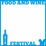 Food and Wine: Festival Overlay Laser Die Cut
