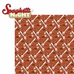 Food Night: Spaghetti Night 2 Piece Laser Die Cut Kit