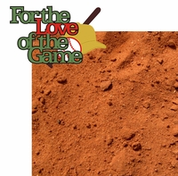 For The Love Of The Game 2 Piece Laser Die Cut Kit