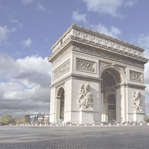 French Adventures: Arc de Triomphe 12 x 12 Paper