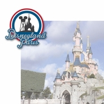 French Adventures: Disneyland Paris 2 Piece Laser Die Cut Kit