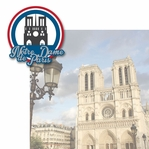 French Adventures: Notre Dome de Paris 2 Piece Laser Die Cut Kit