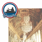 French Adventures: Palace of Versailles 2 Piece Laser Die Cut Kit