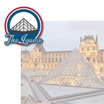 French Adventures: The Louvre 2 Piece Laser Die Cut Kit