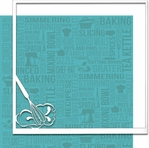 From Scratch: Whisk 12 x 12 Overlay Quick Page Laser Die Cut-<font color=red> <b>we ♥ this</b></font>