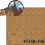 Frontier Land: Thunder Mountain Laser Die Cut Kit