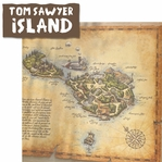 Frontier Land: Tom's Island 2 Piece Laser Die Cut Kit